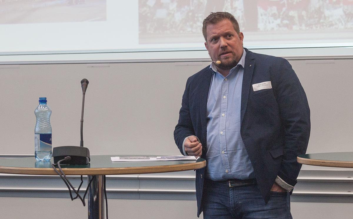 Andy Metska, Geschäftsführer und Sicherheitschef des Openair St. Gallen.