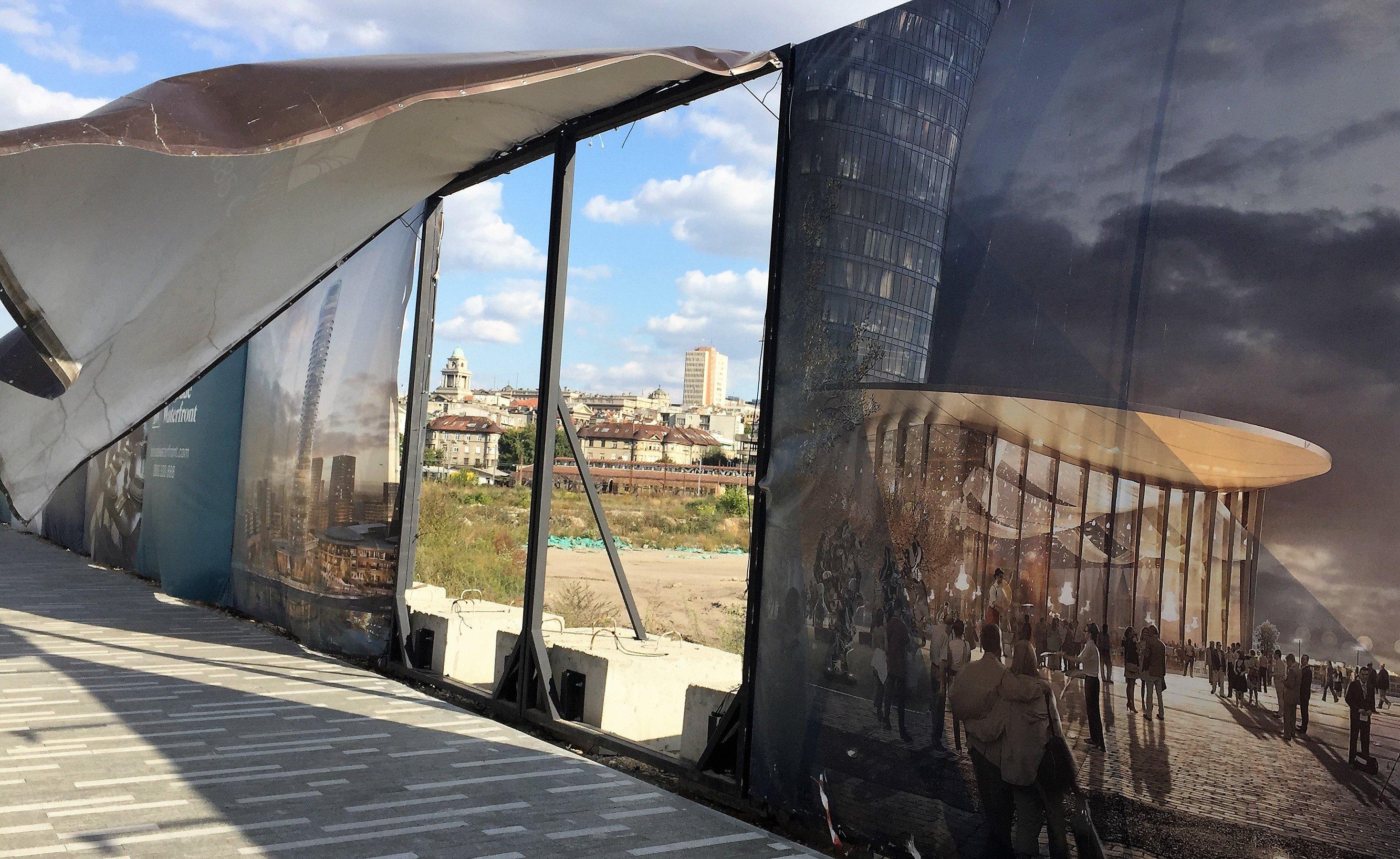 Freitag, 29.9, 15.24 Uhr: Belgrad Waterfront – arabische Investoren bauen Stadtteil.