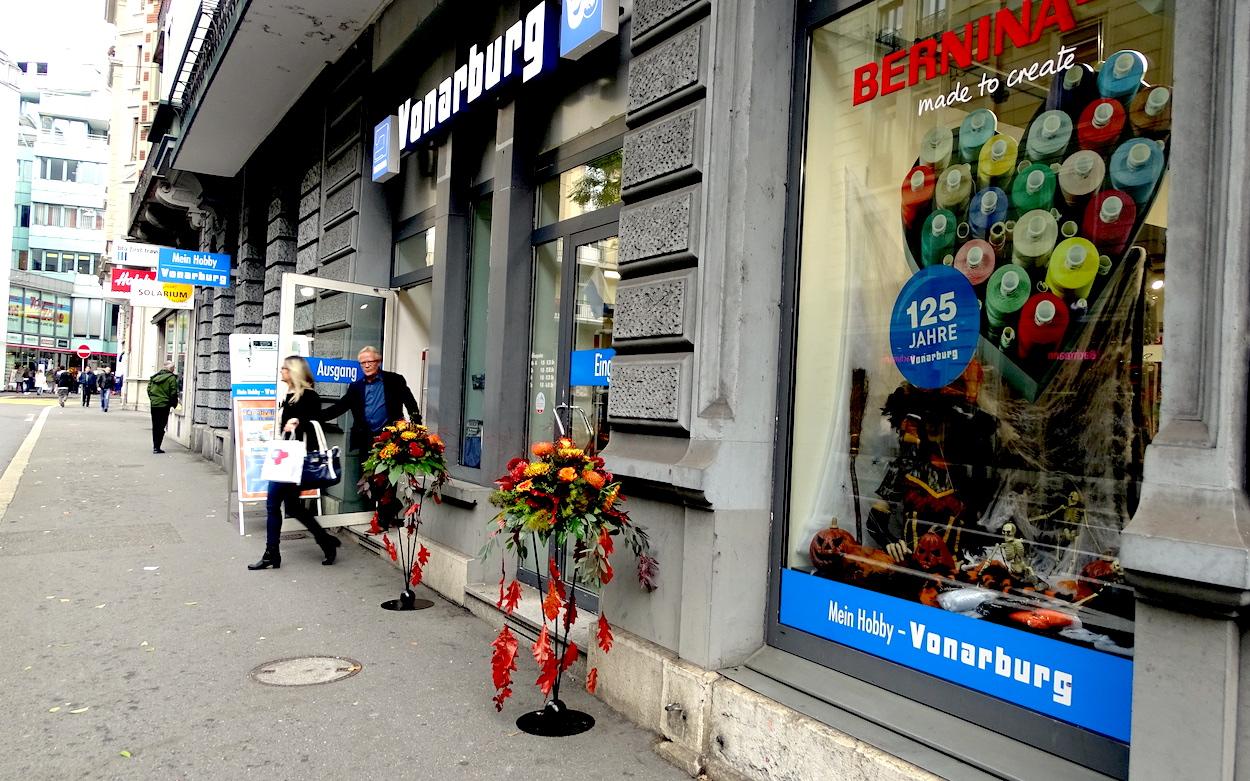 Seit fünf Jahren ist das Näh- und Hobbycenter Vonarburg an der Alpenstrasse zuhause.