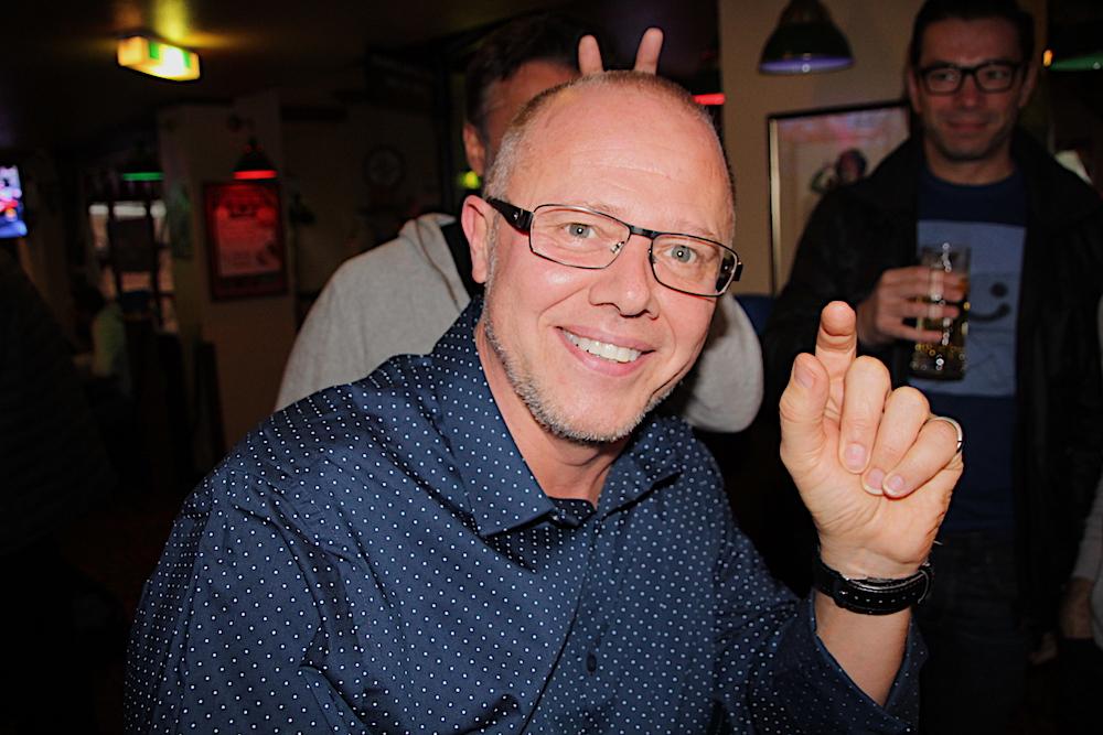 «Ain bissgen!»: Schon so viel Deutsch kann Steve aus Sunderland, der als Expat in Zug arbeitet.