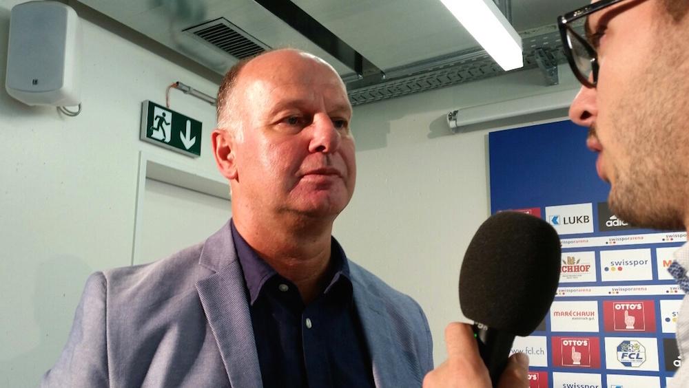 Der neue FCL-CEO Marcel Kälin gibt diesen Dienstag, 6. September, seine ersten Interviews (Bild: lwo).