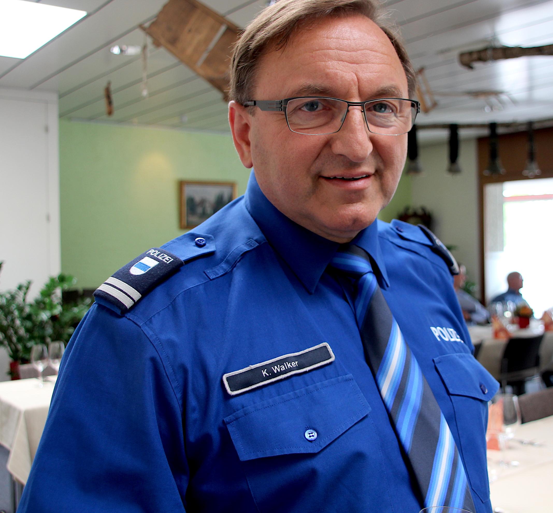 Polizeikommandant Karl Walker von der Zuger Polizei.