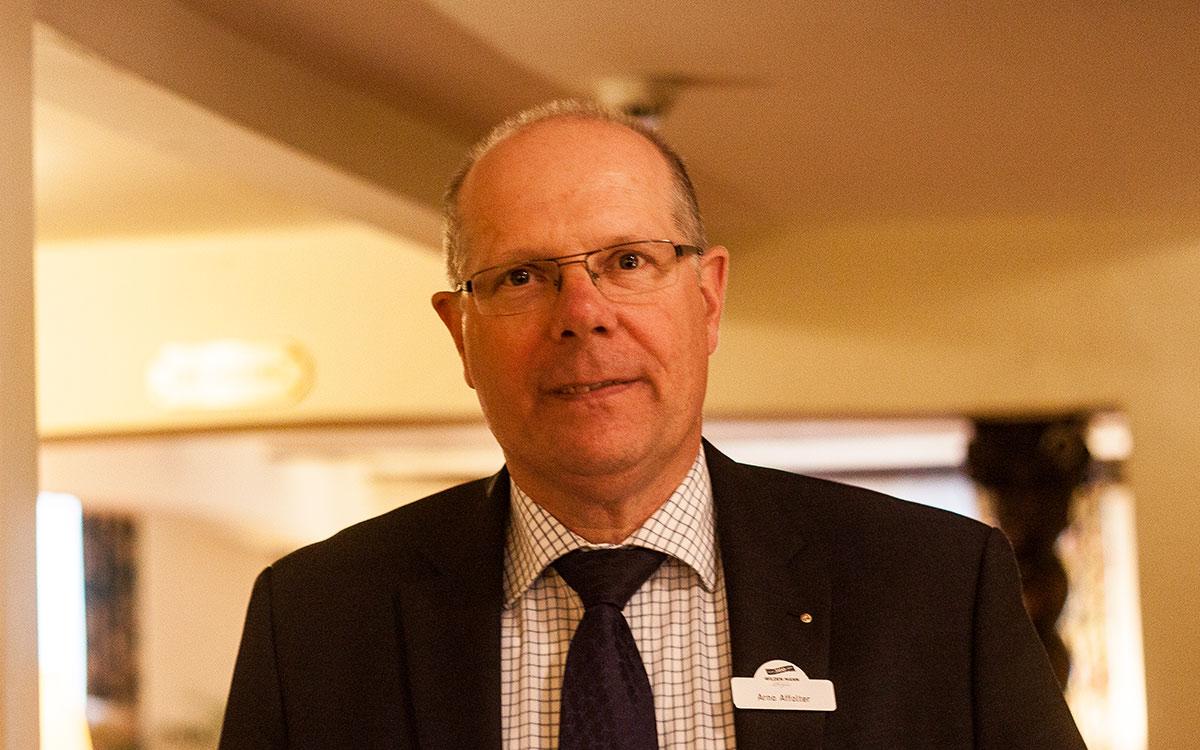 Arno Affolter, Direktor im Wilden Haus.