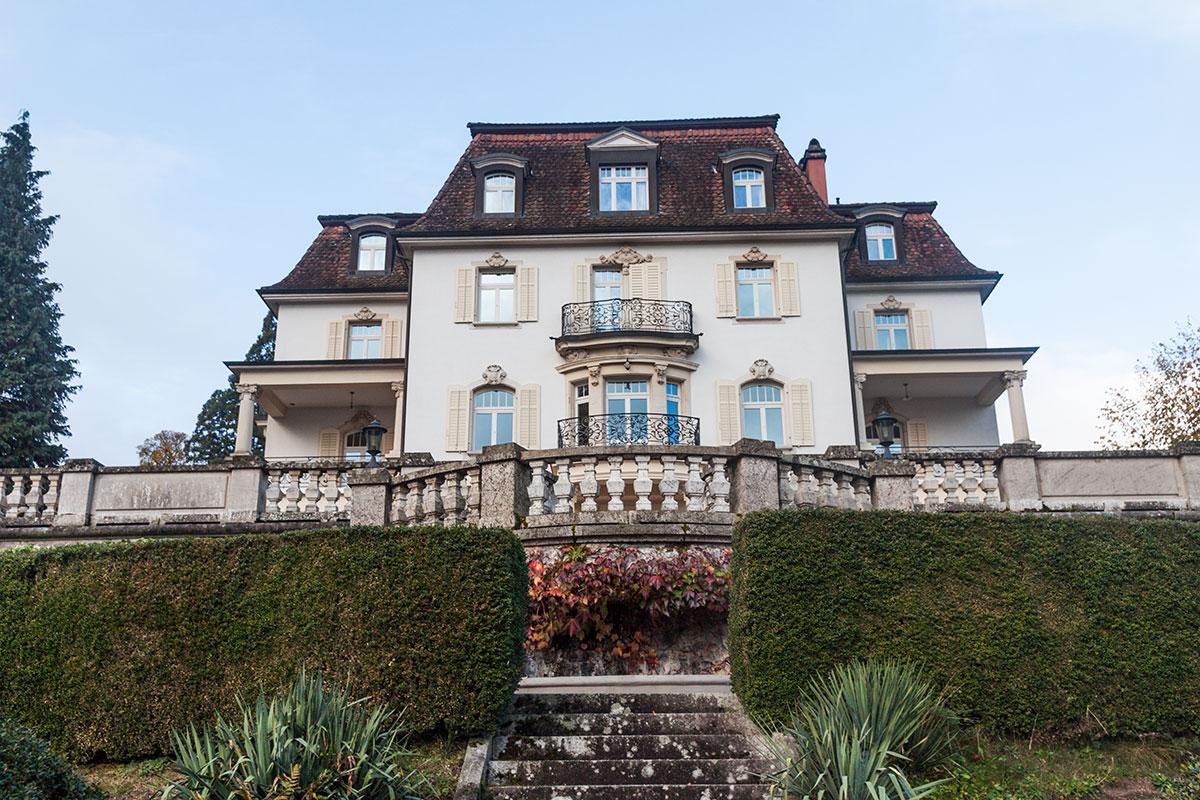 Das Haupthaus von Krämerstein.