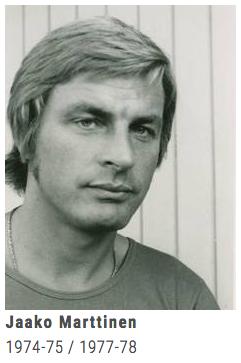 Jaako Marttinen: Der erste Ausländer, den der EVZ verpflichtete.