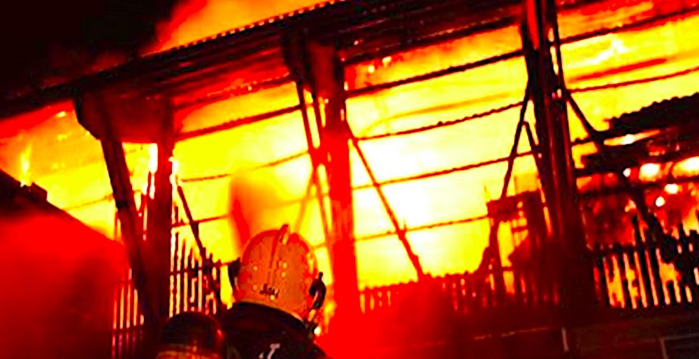 Das «Centro» brannte lichterloh am 20. August.