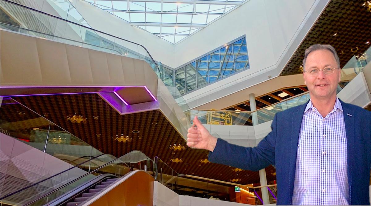 Bruno Kunz freut sich auf die Eröffnung des schweizweit zweitgrössten Einkaufszentrums.