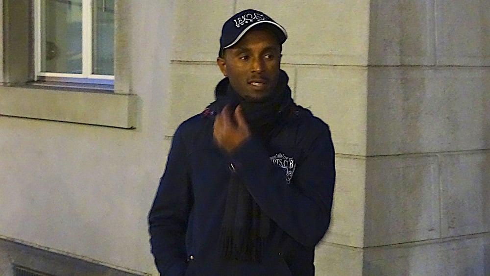 Locker und kontrovers: Okbaab Tesfamariam.