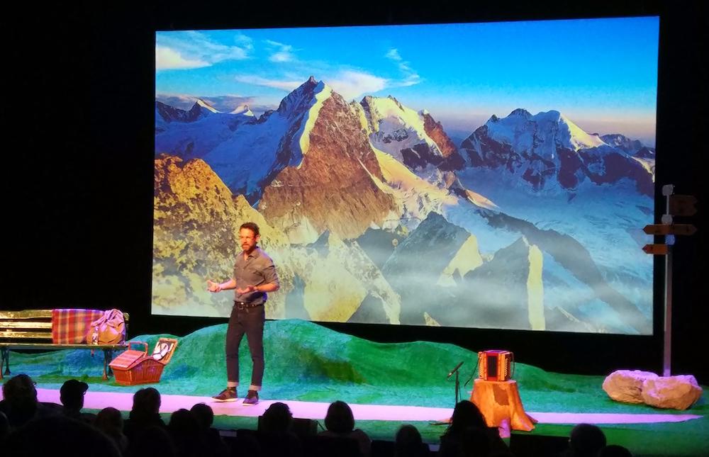 : Traumhafte Bilder der Schweizer Bergwelt. Hier das Bernina-Massiv im Engadin. Tolle Stimmungsbilder.