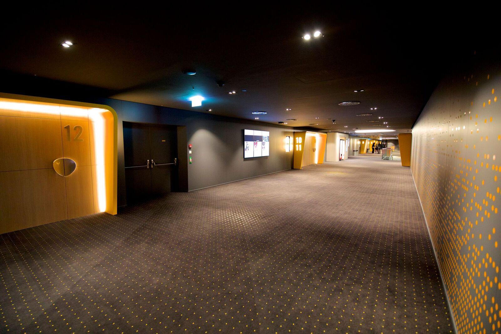 Bereit für den Ansturm: Ab Mittwoch zeigt das neue Multiplex in Ebikon die ersten Filme.