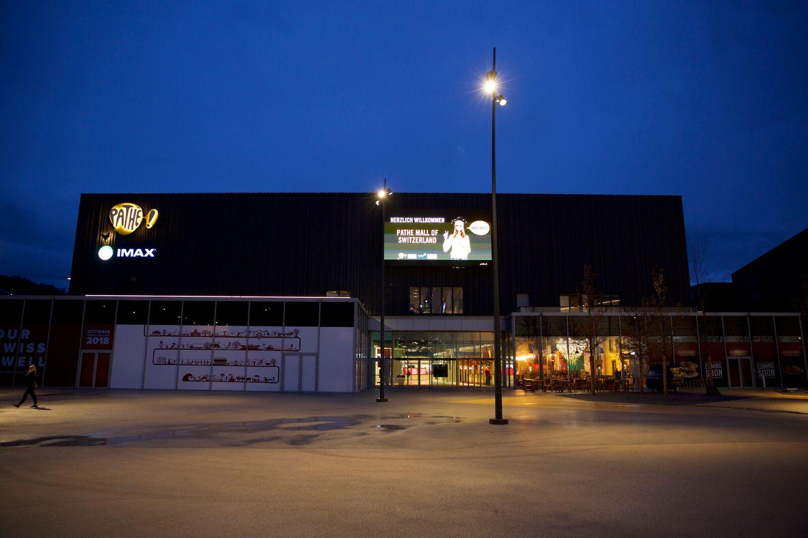 Die Kinosäle haben Freitag und Samstag bis 3 Uhr morgens geöffnet.