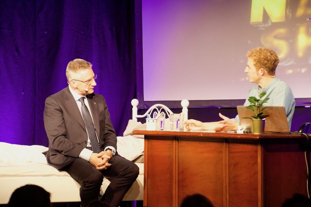 Andreas Glarner verriet Elsener auch sein Lieblinsgericht: «Chalbsbäggli.»