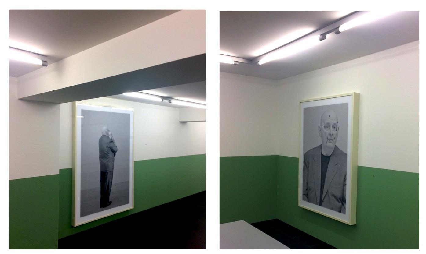 Eindrücke der Ausstellung «Heimspiel» von Urs Lüthi im Museum im Bellpark.