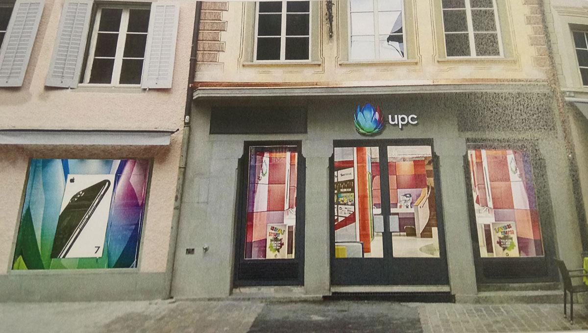 So soll der UPC-Shop am Hirschenplatz aussehen.