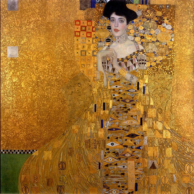 Das bekannte Gustav-Klimt-Bild von Adele Bloch-Bauer zeigt, wie wichtig den Wiener Secessionisten die Mode war.