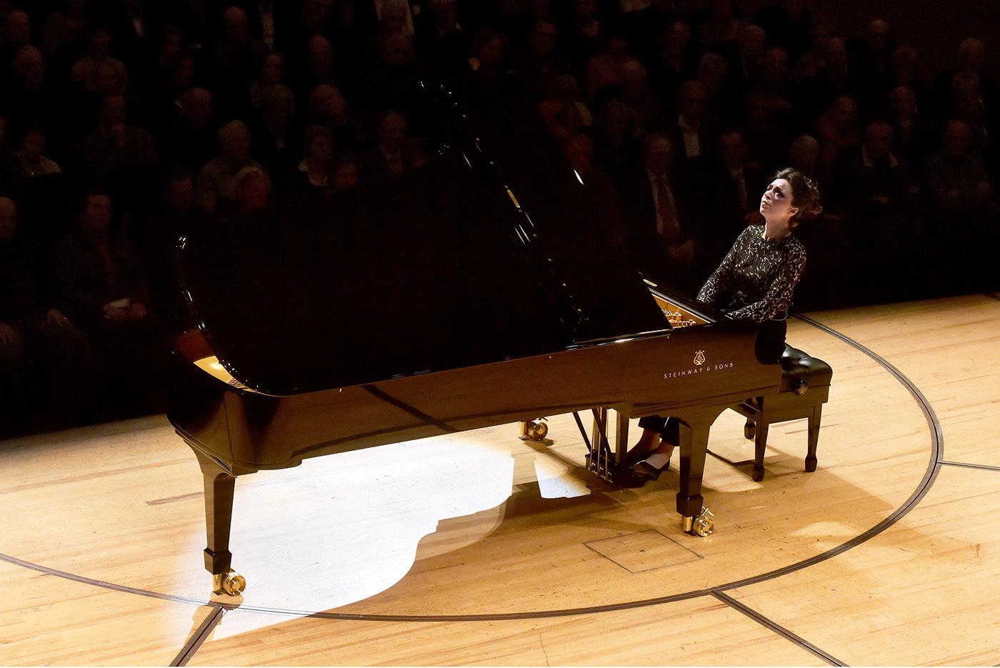 Yulianna Avdeeva am diesjährigen Piano-Festival im KKL.