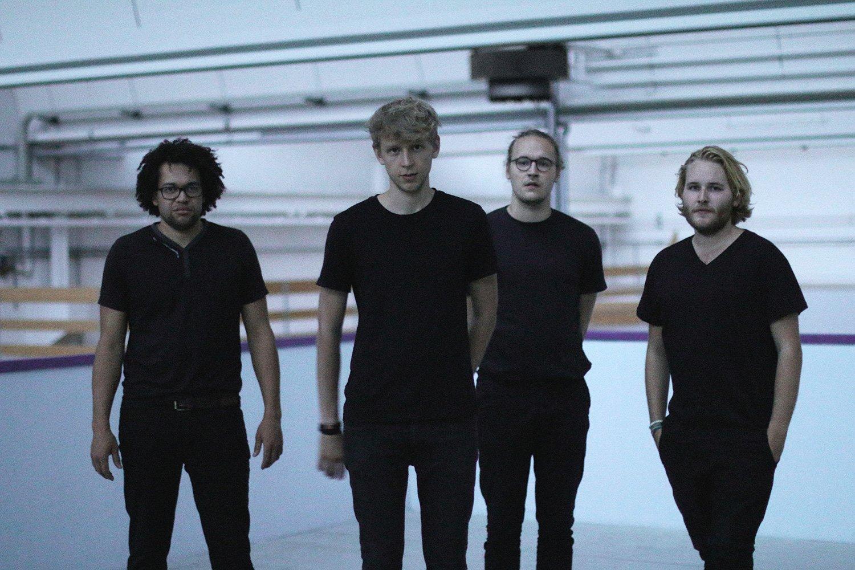 Das Luzerner Quartett Granular – von links: Leroy Biscette (Drums), Sebastian Meyer (Voc, Keys, Guit),Christian Cotting (Guit, Voc) und Matthias Cotting (Keys, Bass).