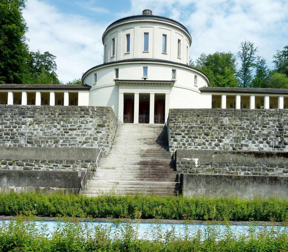 Die technischen Anlagen im alten Krematorium sind seit dem Neubau 2005 nicht mehr in Betrieb.