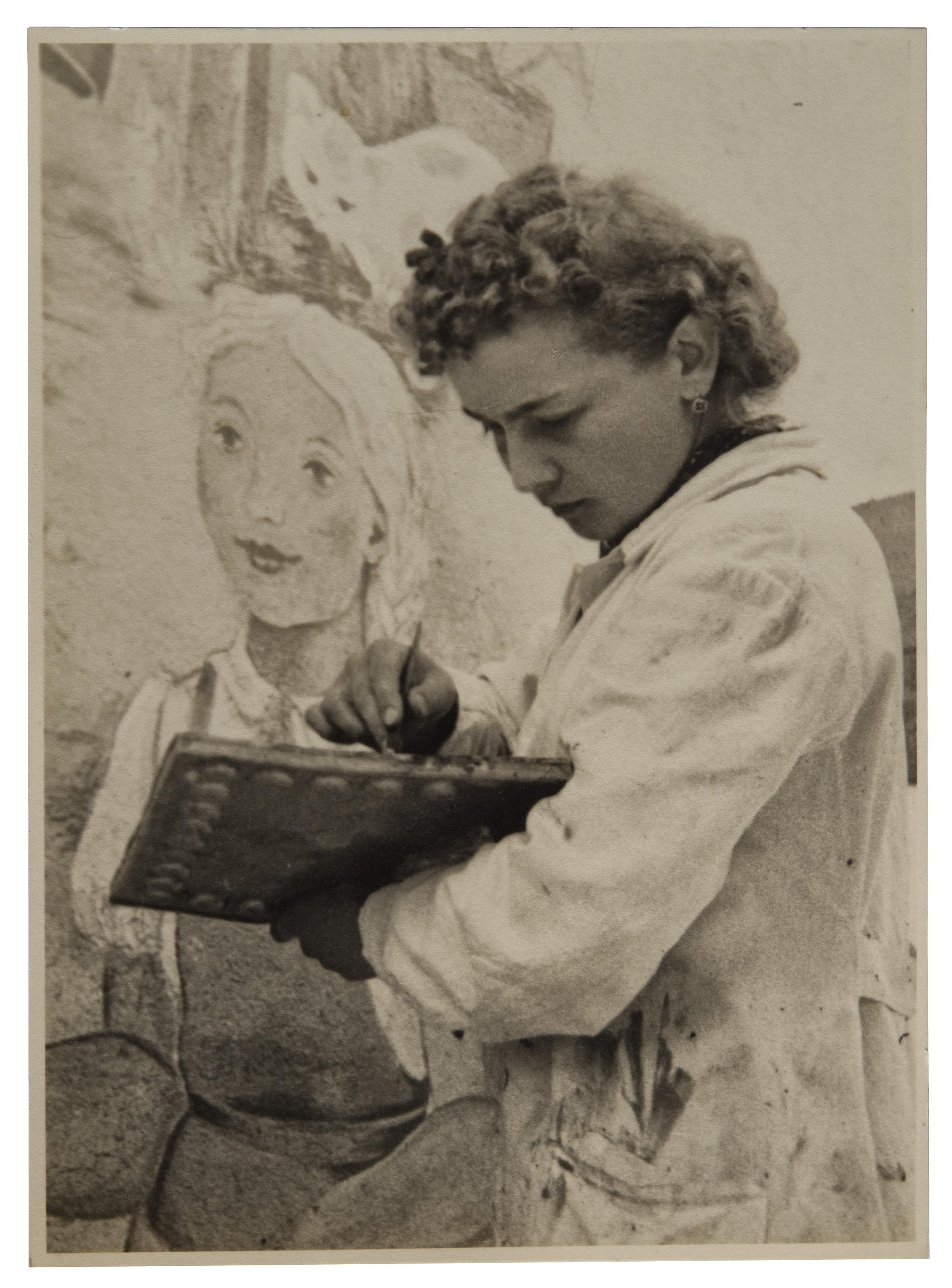 Die Autodidaktin Annemarie von Matt wurde schnell Teil der lebendigen Luzerner Kunstszene der zwanziger Jahre.