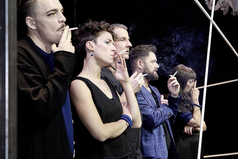 Mathias Ott, Nicole Lechmann, Christoph Fellmann,Marco Sieber und Franziska Bachmann Pfister (von links).