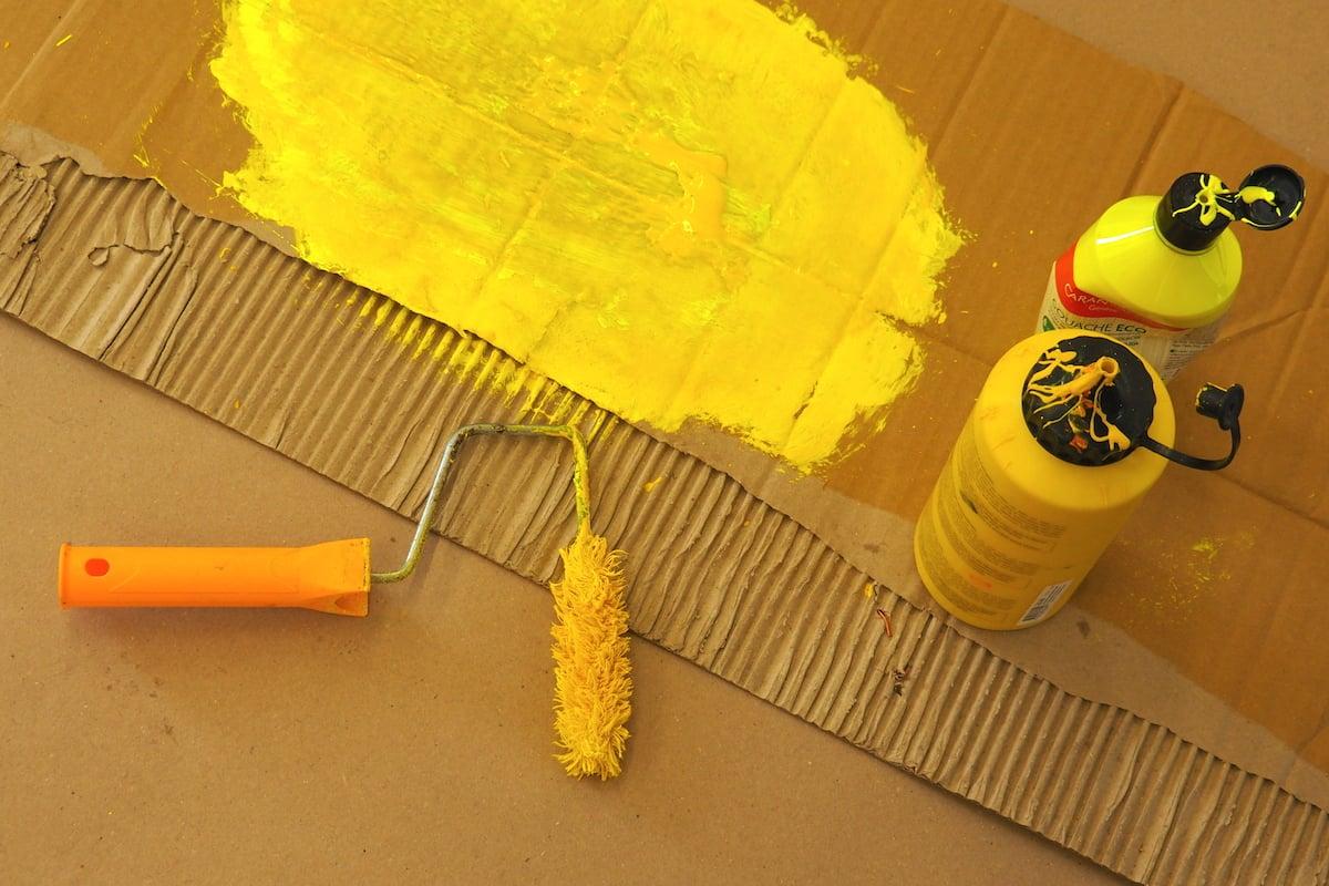 Gelb ist Schroetelers neue Favoritin. Sie löst nach vielen Jahren Rot ab.