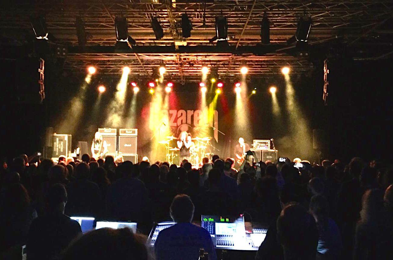 Die Lichtshow der Rocklegenden.