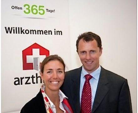 Jennie und Martin Olsson, die Geschäftsführer der «Arzthaus.ch»-Kette.