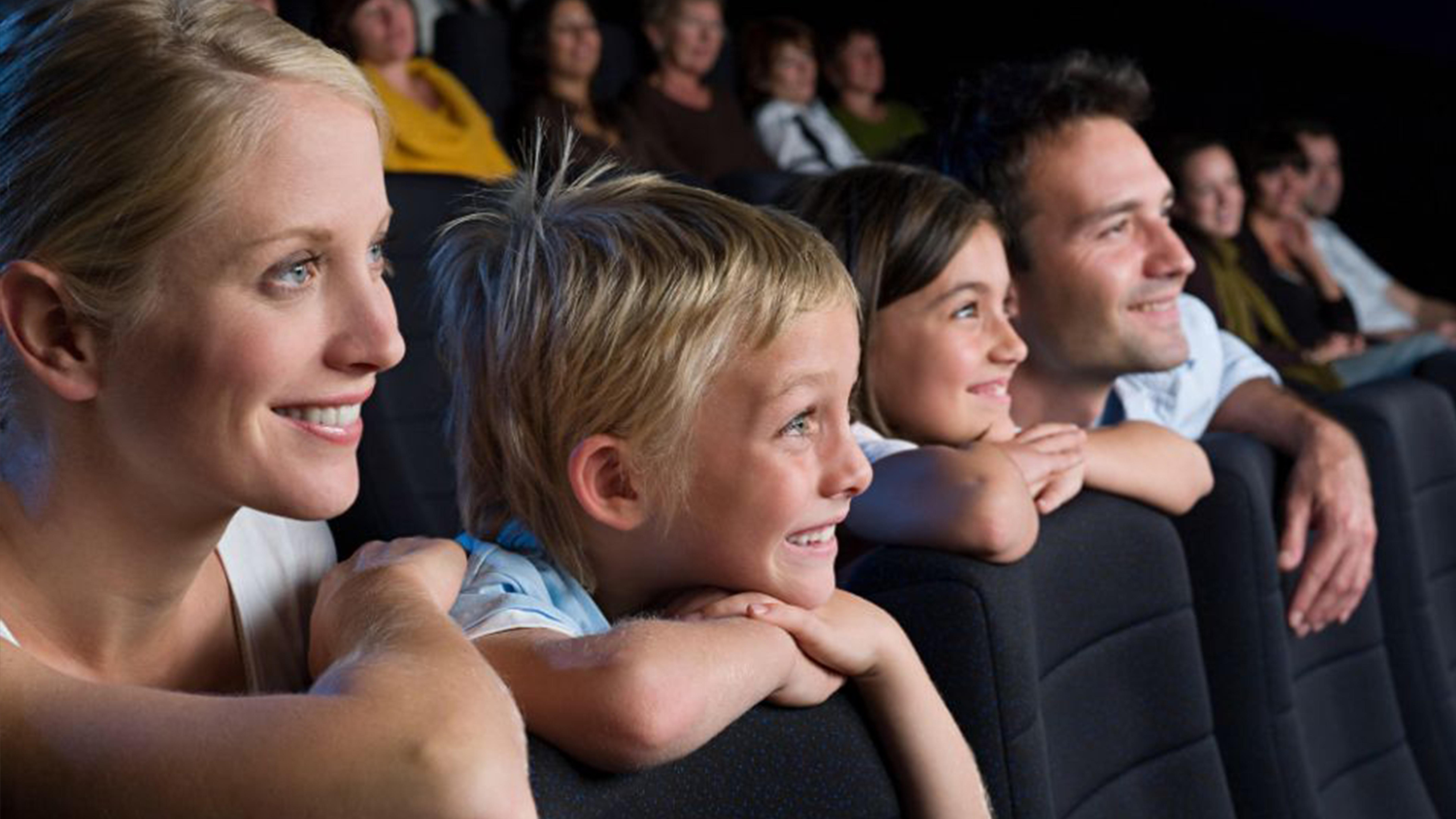 Spass mit der ganzen Familei an den Family Days im Pathé Kino in der Mall of Switzerland.