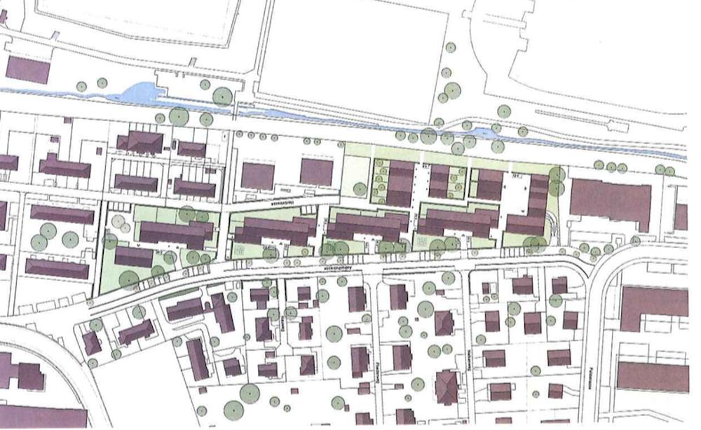 So sehen die Pläne für die 13 neuen Häuser in der Zuger Gartenstadt aus – gemäss den Plänen des Projekts DEN-EN.