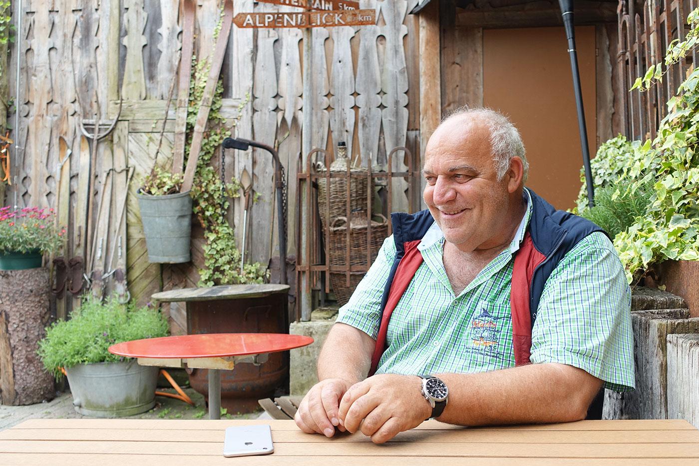 «Für viele hört die Stadt am Kreuzstutz auf»: Gastro-Unternehmer Heiri Michel.