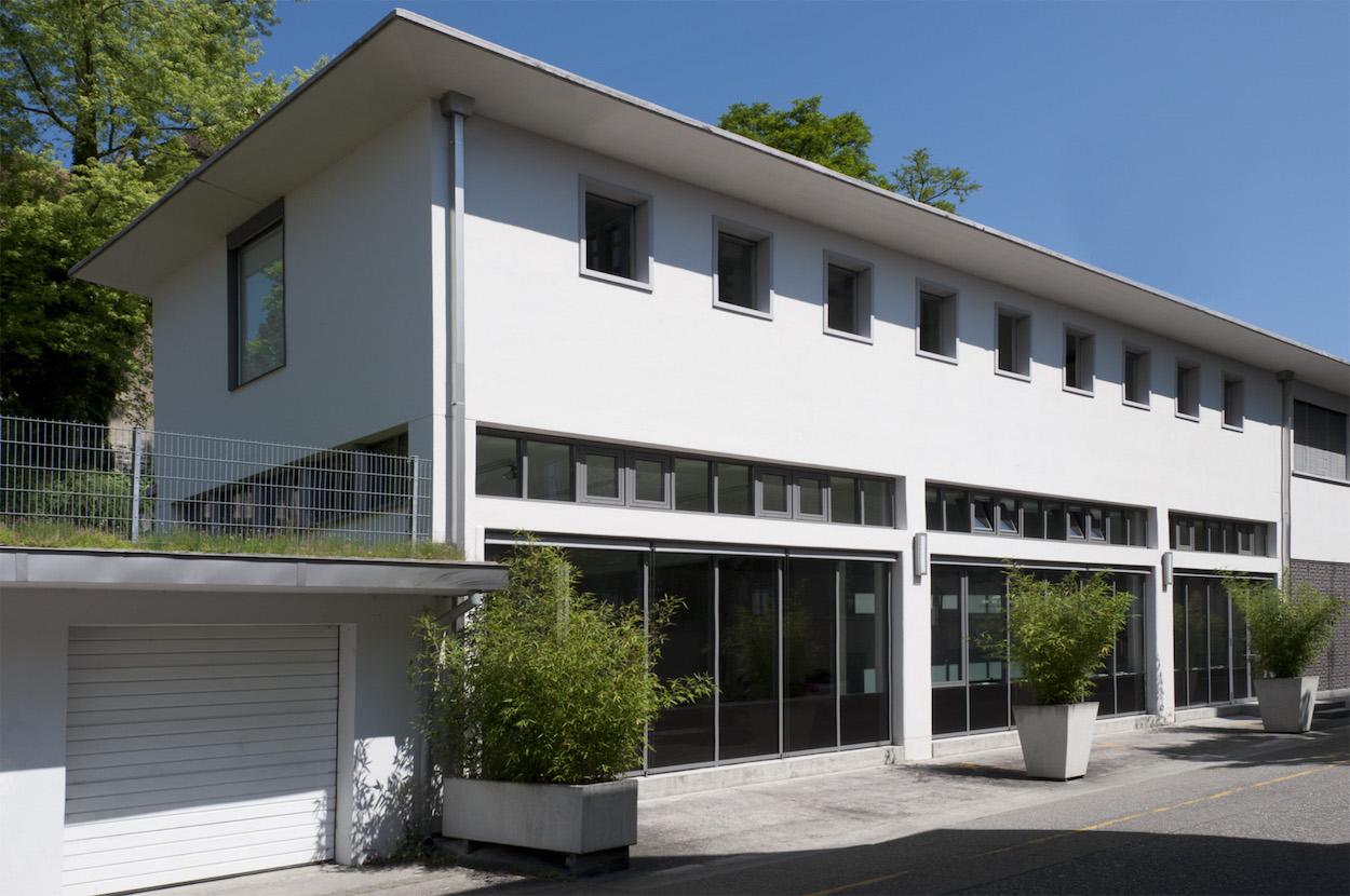 Die Galerie von Urs Meile im Maihofquartier in Luzern.
