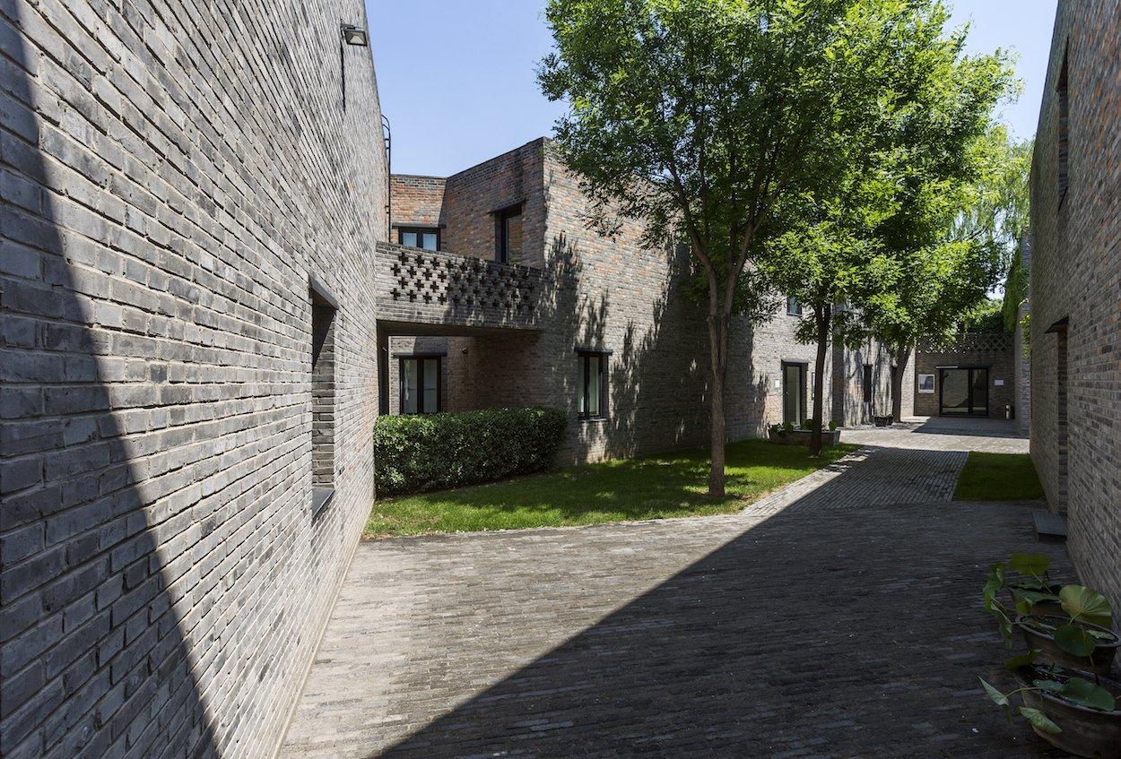 Eine der beiden Galerien von Urs Meile in Peking.