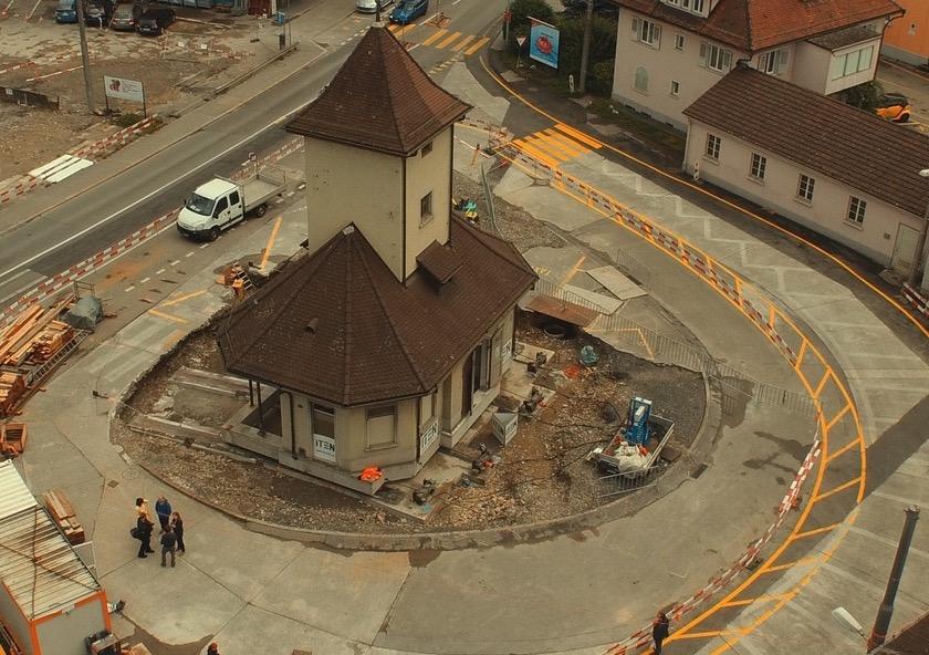 Das Tramhüsli wurde vor dem Abriss gerettet.