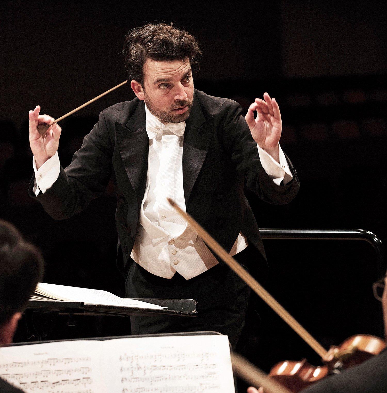 James Gaffigan ist seit der Saison 2011/12 Chefdirigent des Luzerner Sinfonieorchesters.