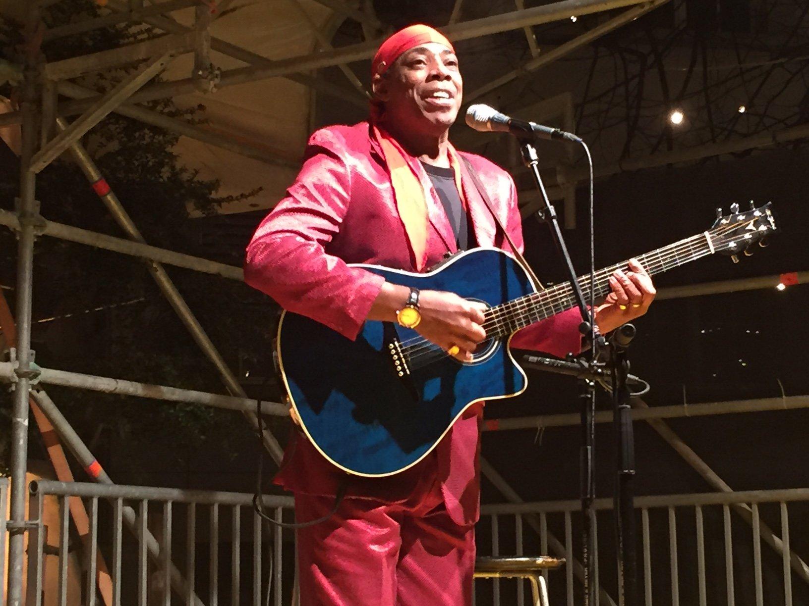 US-Sänger Larry Woodley wird die Besucher von nah und fern auch 2017 wieder mit einem Konzert erfreuen.