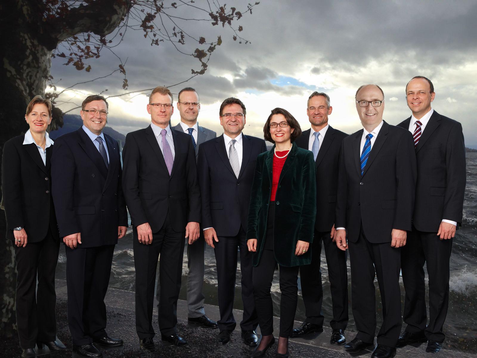 Diese Woche wird das neue Zuger Regierungsratsbild veröffentlicht. Ob es so aussehen wird?