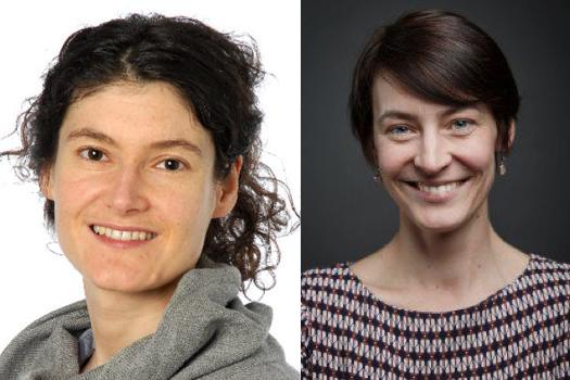 Links: Sonja Eisl, die Leiterin des Kleintheaters (Bild: zvg)Rechts: Eva Laniado, die Geschäftsführerin der IG Kultur (Bild: Daniela Kienzler)