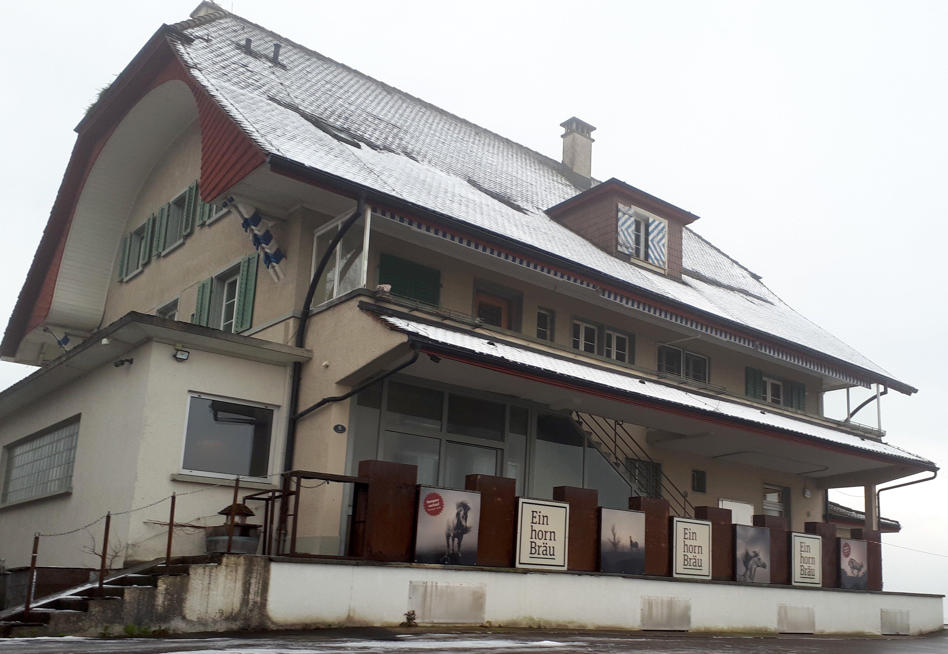 Die Brauerei Einhorn ist in einer ehemaligen Käserei untergebracht.