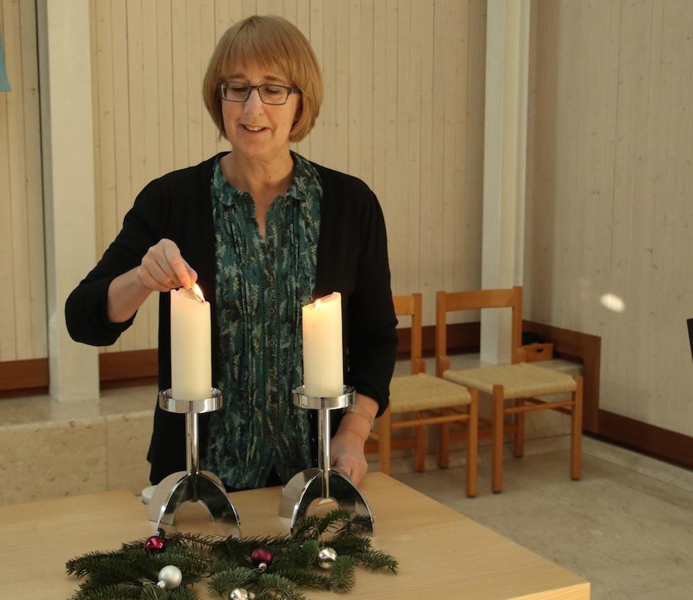 Adventszeit ist Kerzenzeit – auch in Steinhausen.