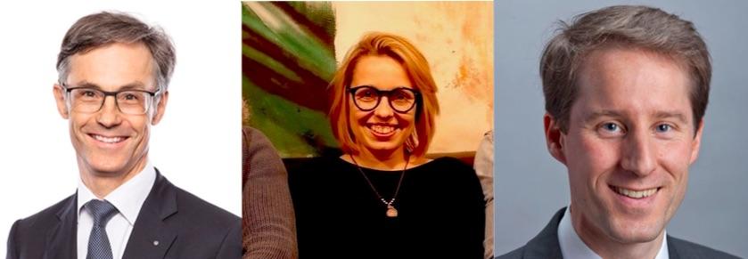 Die Aufsteiger: Karl Kobelt, Laura Hürlimann und Thomas Aeschi
