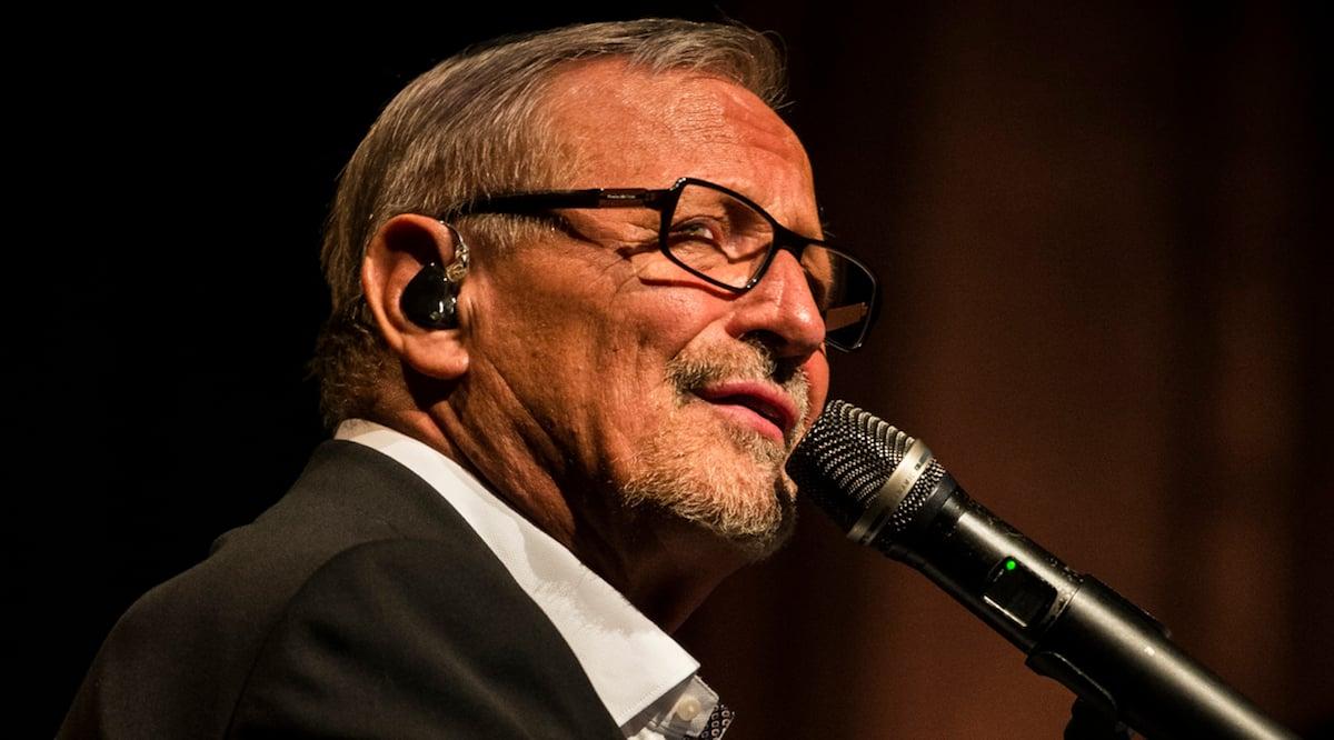 70-jähriger Sänger, Pianist und Poet: Konstantin Wecker.
