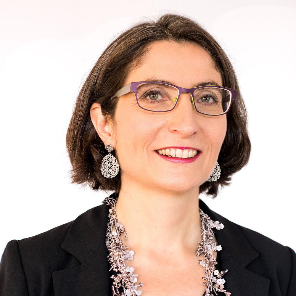 Frau Landammann im Dezember 2017.
