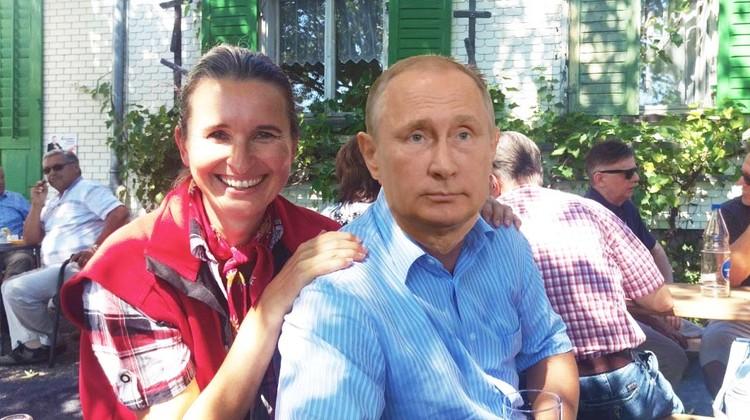 Estermann und Putin freundschaftlich vereint. So gut, dass selbst ein gewiefter Photoshop-Freund zweimal hingucken muss.