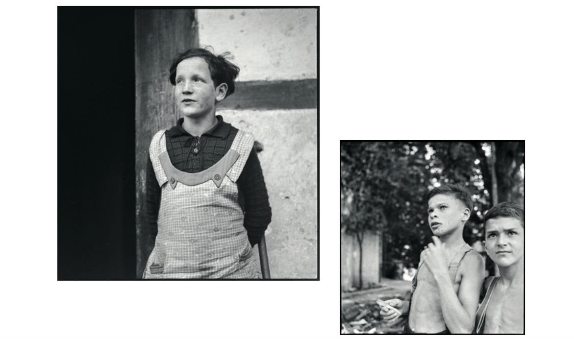Bilder von ehemaligen Verdingkindern.