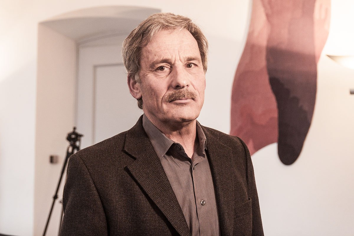 Der Luzerner Kantonstierarzt Otto Ineichen während der Pressekonferenz am Mittwochnachmittag.