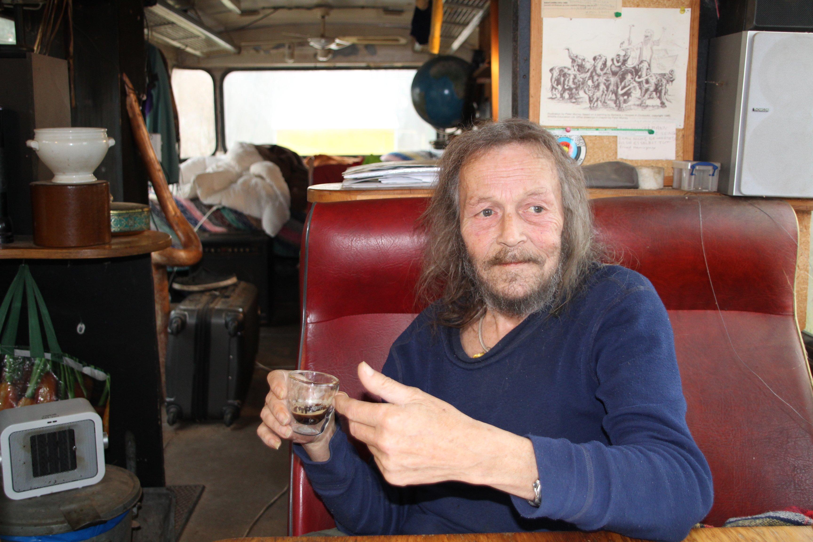 Kolja Farjon ist ein Geniesser: Er liebt guten Kaffee.