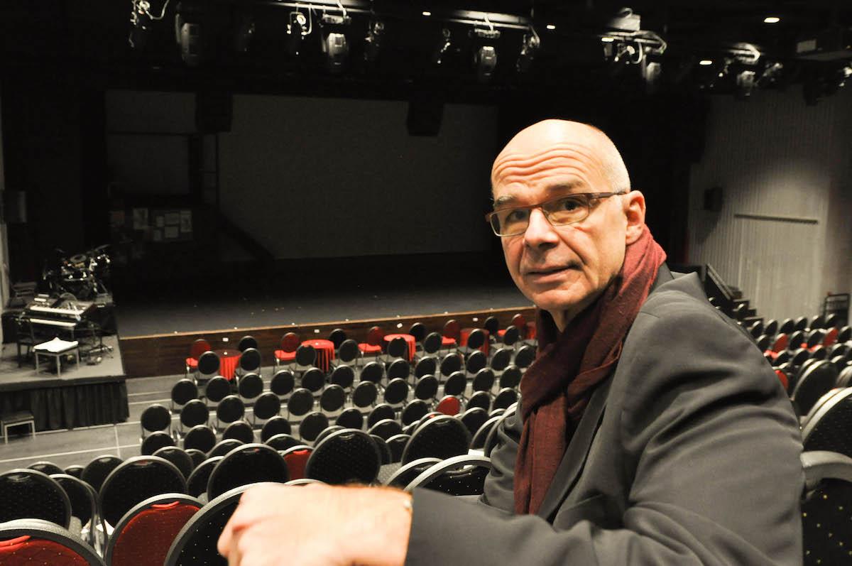 Andréas Härry in seinem Reich: dem Theatersaal.