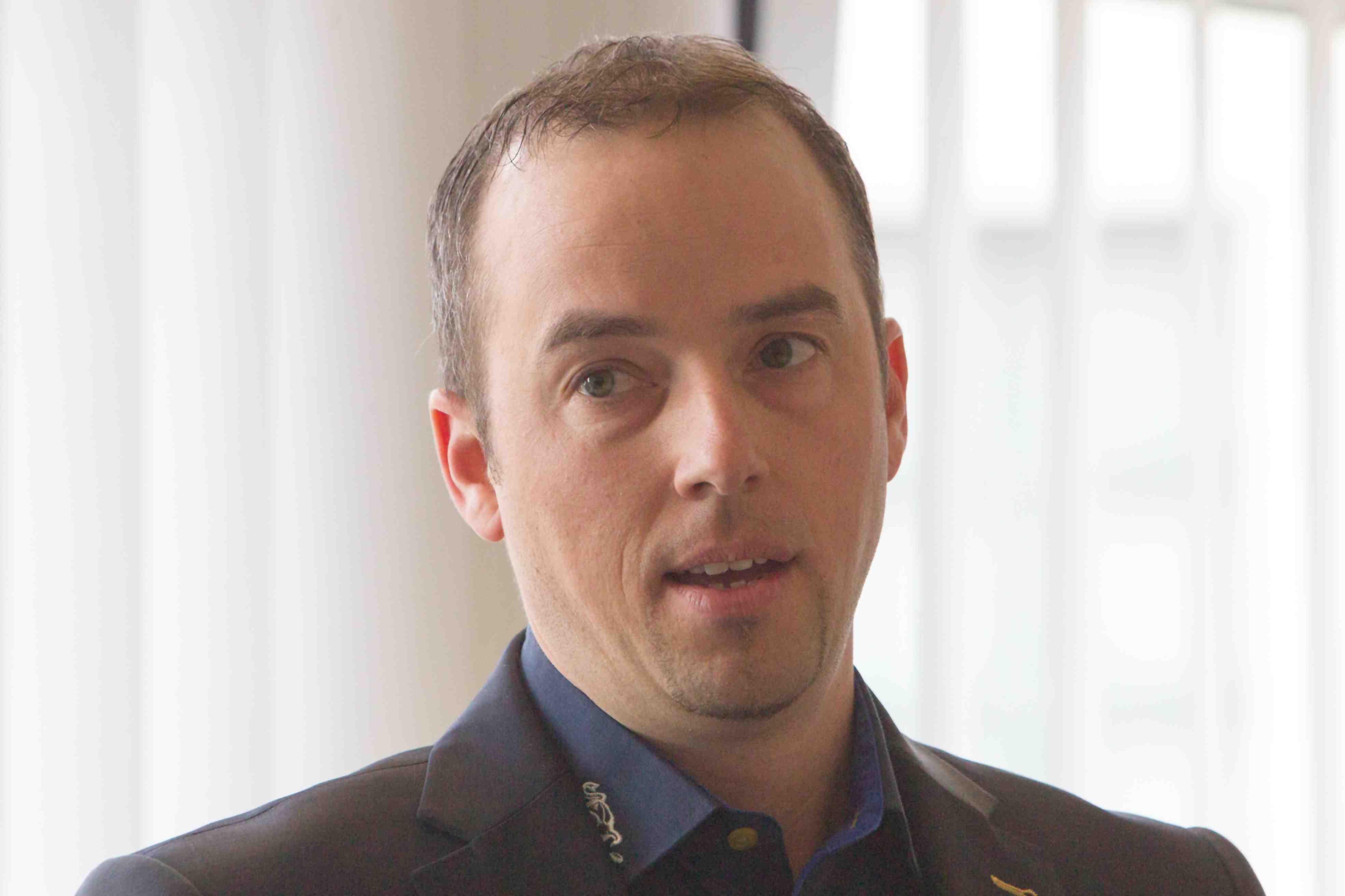 Patrick Lengwiler, CEO des EV Zugs, freut sich über die neuen Trainingsmöglichkeiten.