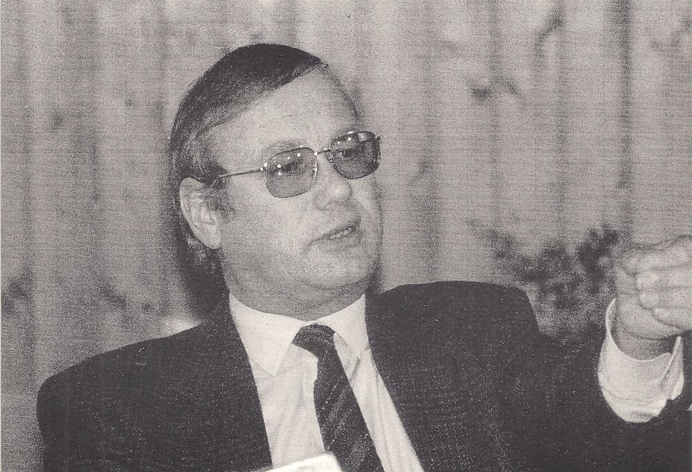 Mit diesem Foto machte Joseph Schärli im Grossratswahlkampf 1991 Wahlkampf.