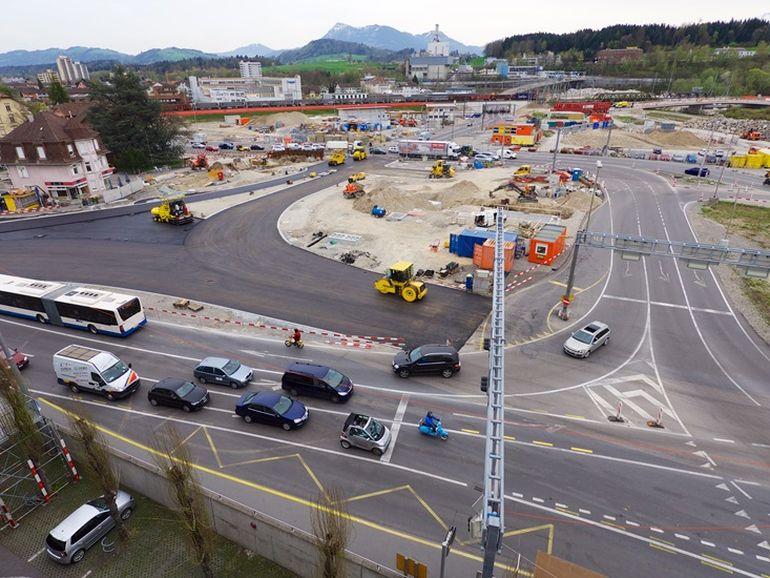 Viel Platz zum Arbeiten: Der Kanton will seine Verwaltung am Seetalplatz in Emmenbrücke konzentrieren.